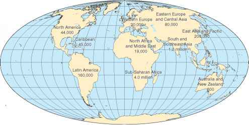 Map Ofworld And Laitude