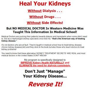 How To Treat Kidney Damage Naturally