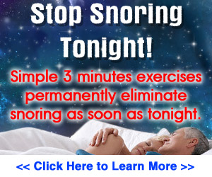 Home Treatment of Snoring