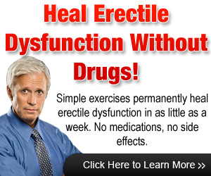 Chinese Treatment for Erectile Dysfunction