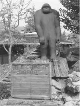 Bigfoot Sculpture